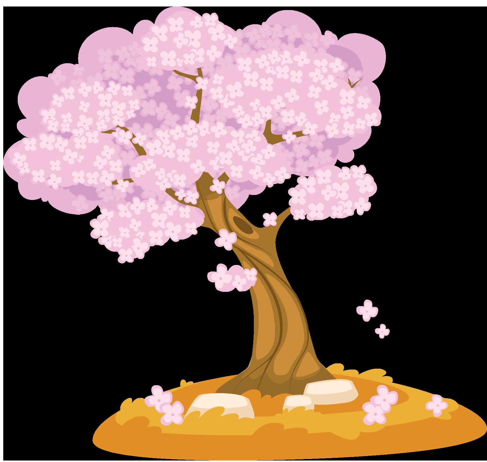 arbre saison printemps