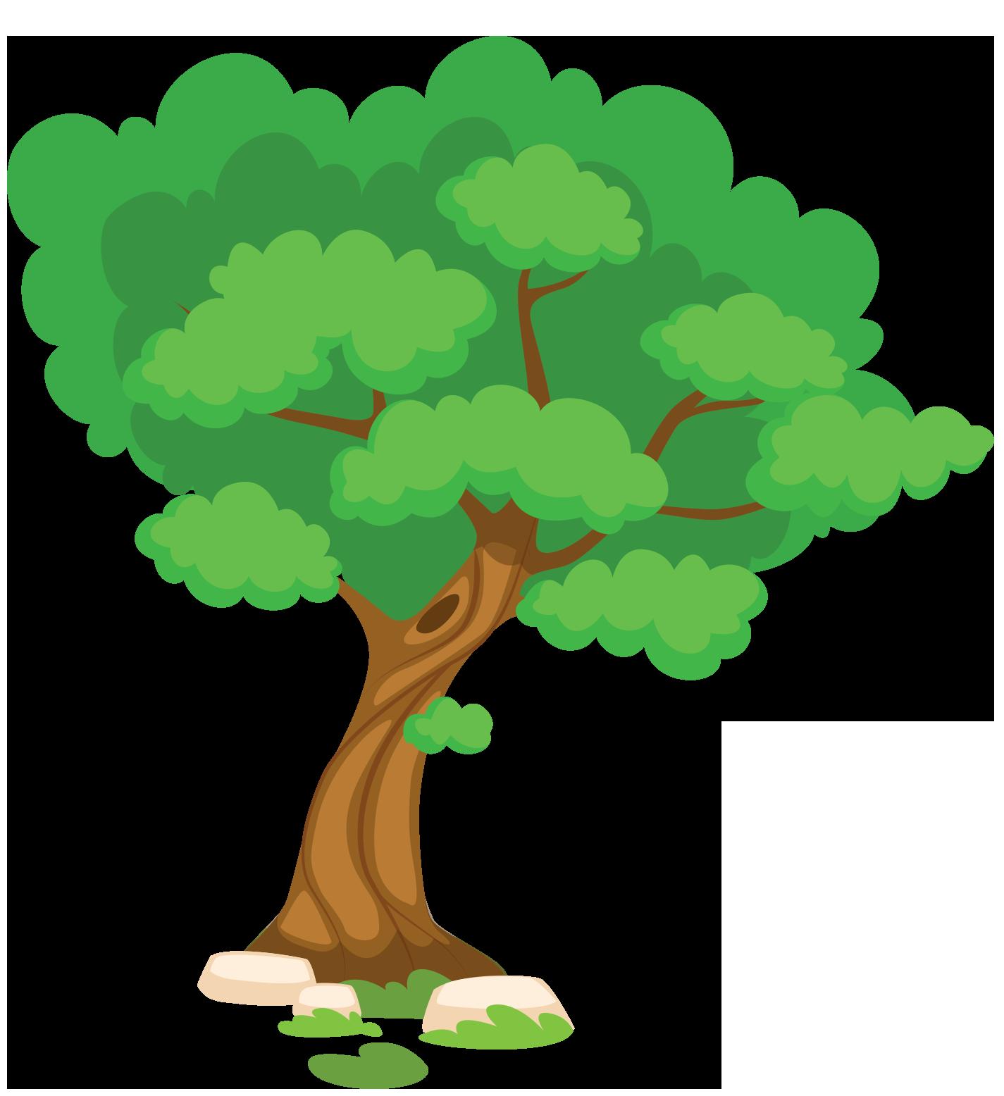 arbre saison été