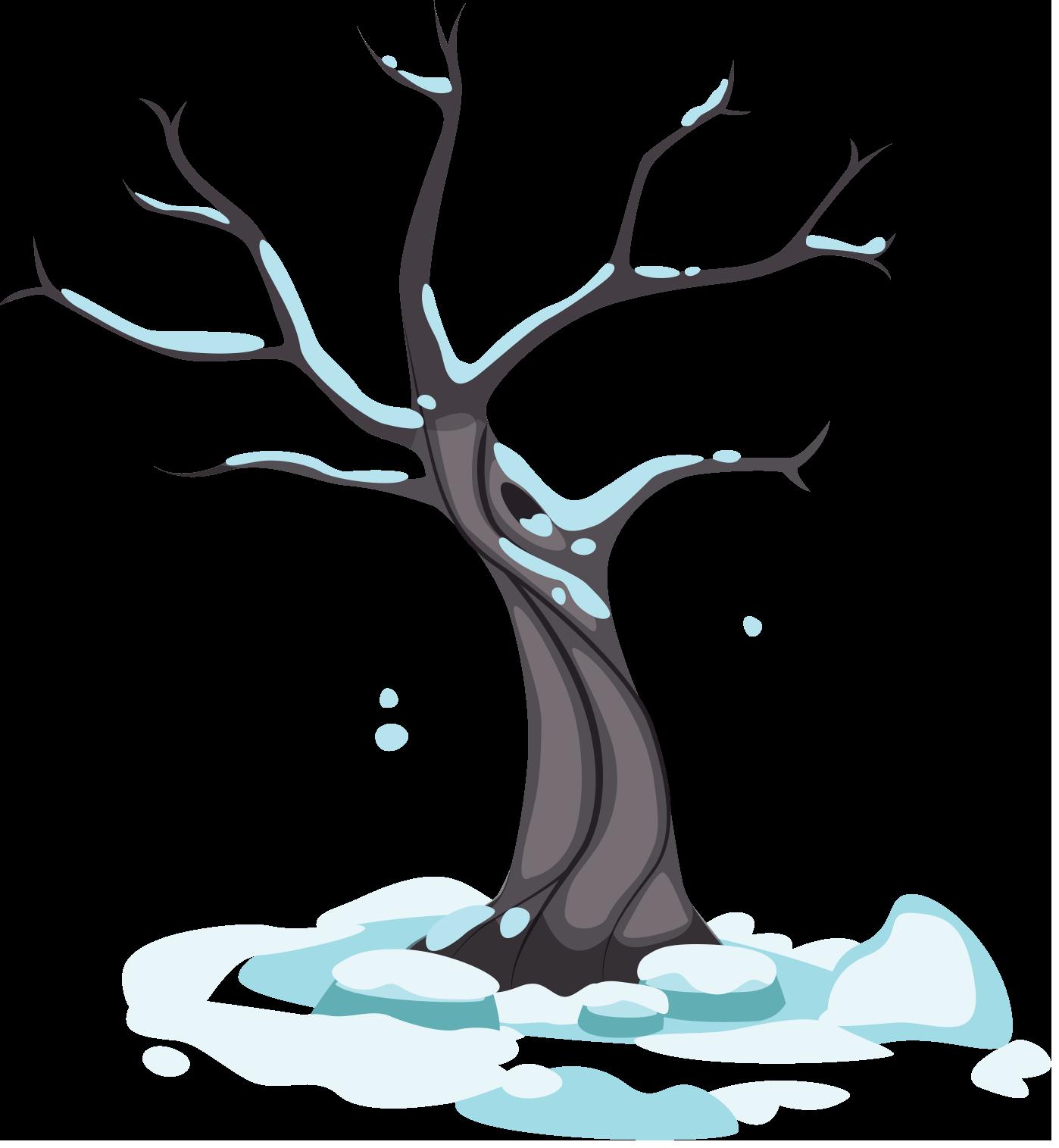 arbre saison hiver